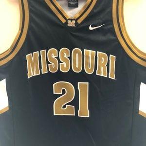 Missouri Tigers Basketball Jersey - Nike #21